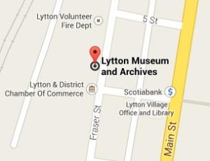 Lytton street map